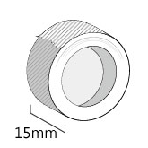 15mm紙膠帶
